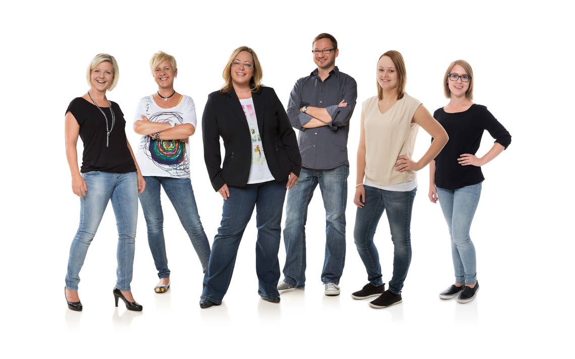 Das Team von crosseye Marketing